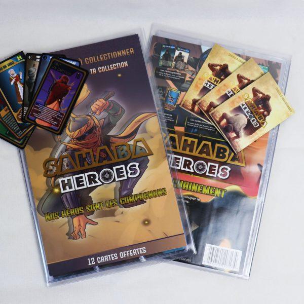 album cartes sahaba heroes